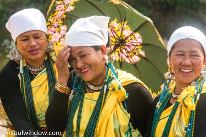 Basar Confluence Bas Con Arunachal Pradesh India Galo Tribe