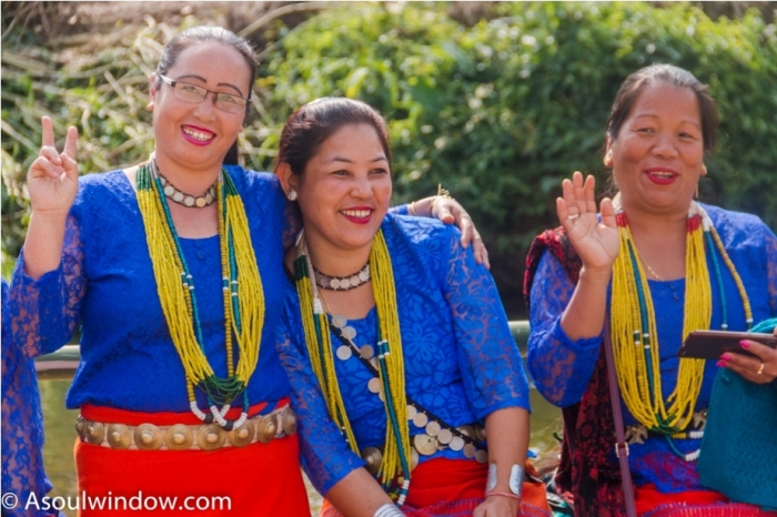 Basar Confluence Bas Con Arunachal Pradesh India Galo people