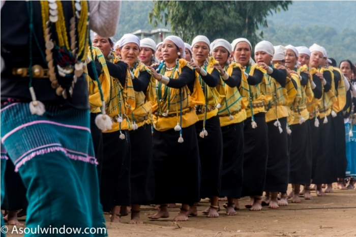 Basar Confluence Bas Con Arunachal Pradesh India Mega Dance