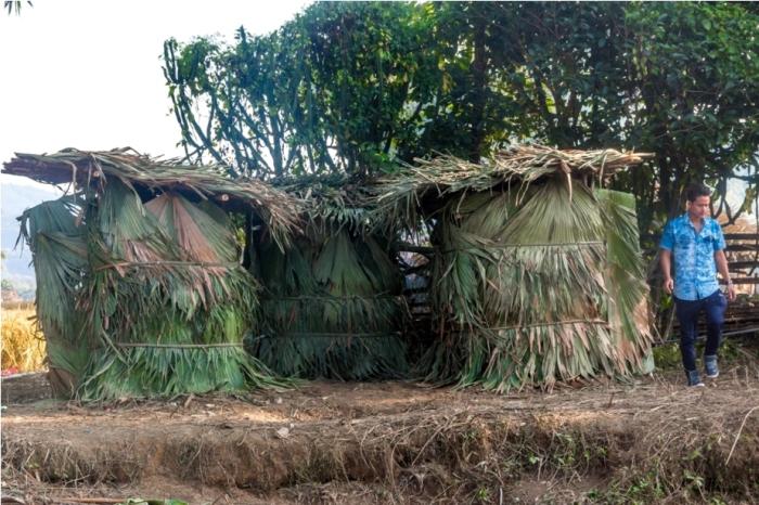 Basar Confluence Bas Con Arunachal Pradesh India eco friendly toilet