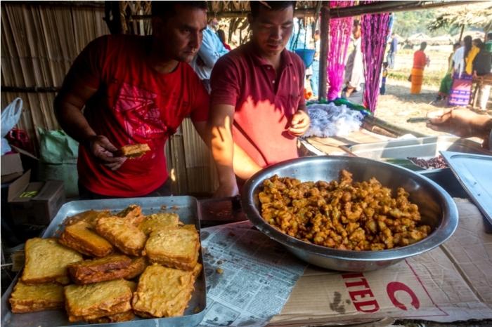 Basar Confluence Bas Con Arunachal Pradesh India vegetarian