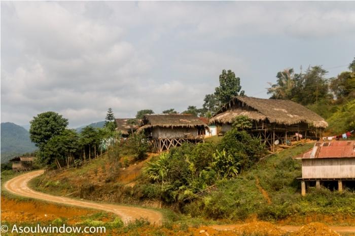 Basar Confluence Bas Con Arunachal Pradesh India village