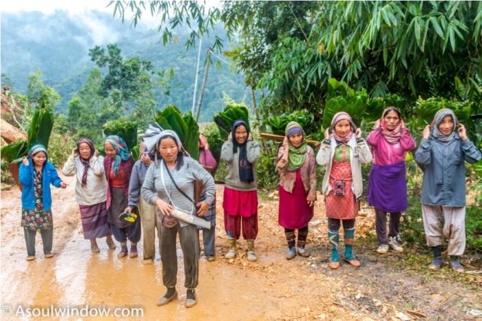 Basar Confluence Bas Con Arunachal Pradesh India