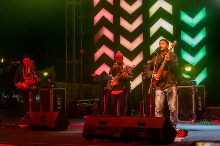 Bipul Chettri Orange music festival Dambuk Arunachal Pradesh India