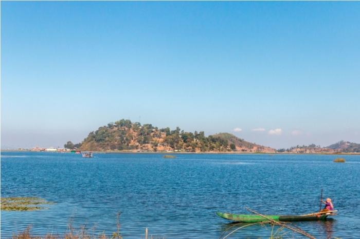 Boat ride Loktak Lake Manipur Incredible India Phumdi (9)