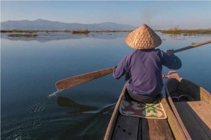 Boat ride Loktak Lake Manipur Incredible India