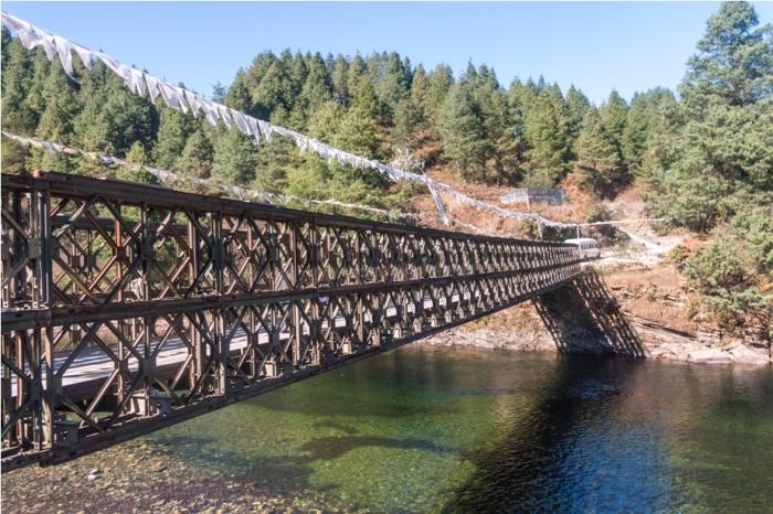 Bridge Adventure At Mechuka Arunachal Pradesh India