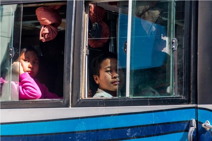 Bus Station Ukhrul Manipur North East India