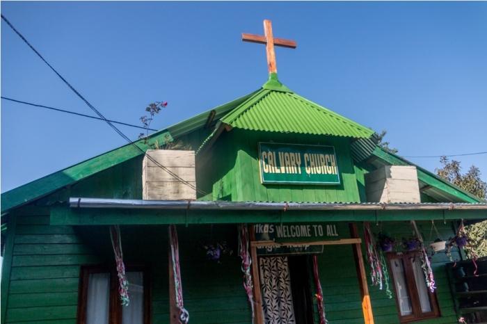Calvary Church Ukhrul Manipur North East India