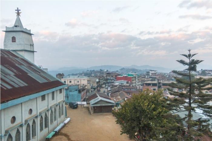 Church Ukhrul Manipur North East India