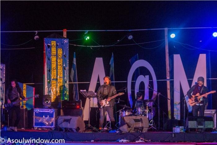 David Angu and band Adventure At Mechuka Arunachal Pradesh India
