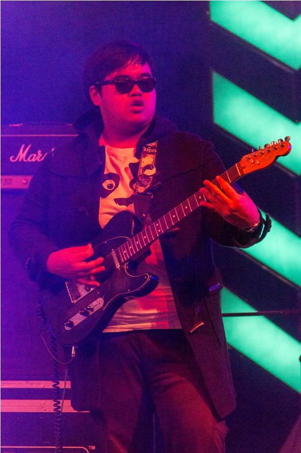Guitarist Orange music festival Dambuk Arunachal Pradesh India