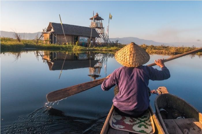 Home stay Boat ride Loktak Lake Manipur Incredible India Phumdi