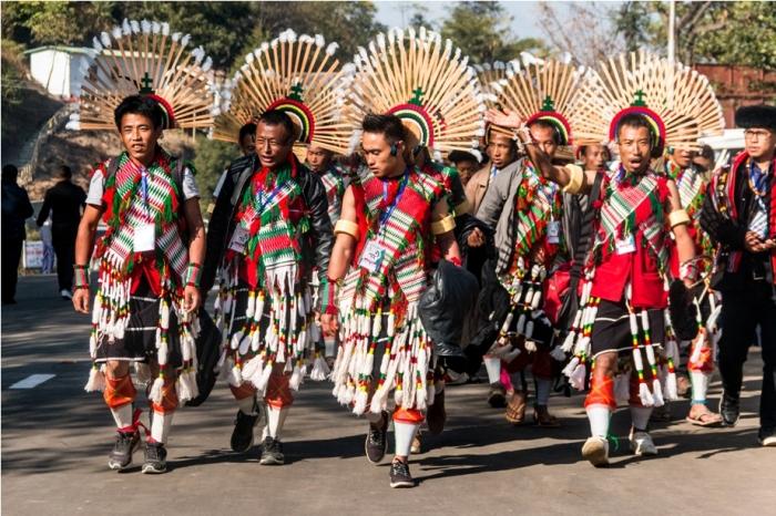 Hornbill festival Nagaland India Tribal