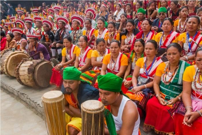 Hornbill festival Nagaland India audience (2)
