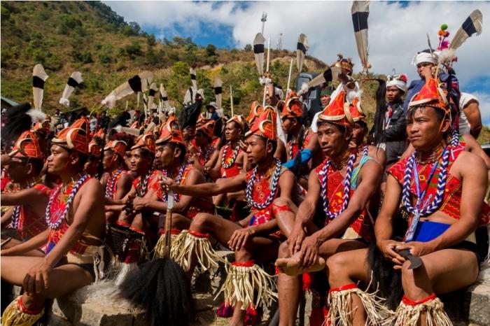 Hornbill festival Nagaland India audience