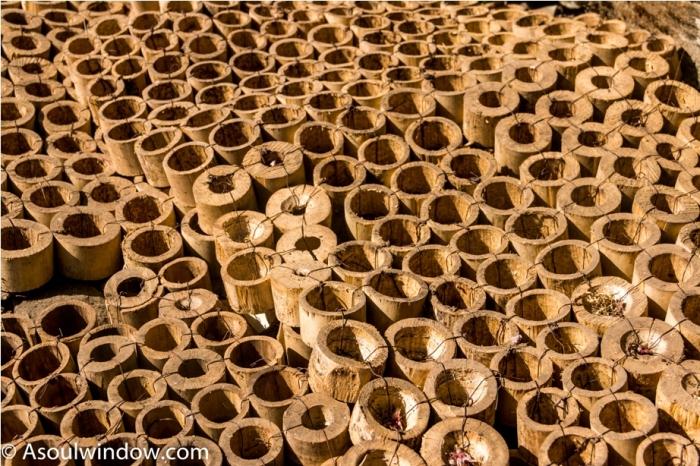 Hornbill festival Nagaland India bamboo door mat
