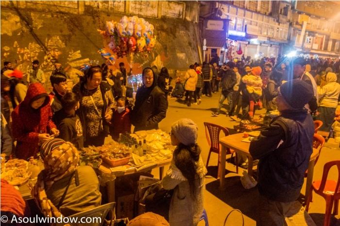 Hornbill festival Nagaland India night market