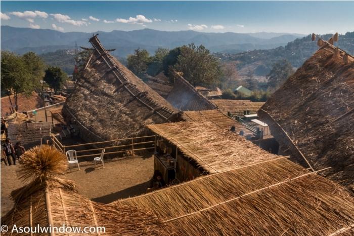 Hornbill festival Nagaland India venue