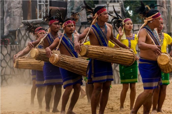 Hornbill festival Nagaland India wangla dance Garo tribe