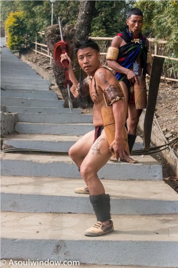 Hornbill festival Nagaland India warrior