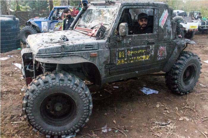 Jeep rally Orange music festival Dambuk Arunachal Pradesh India
