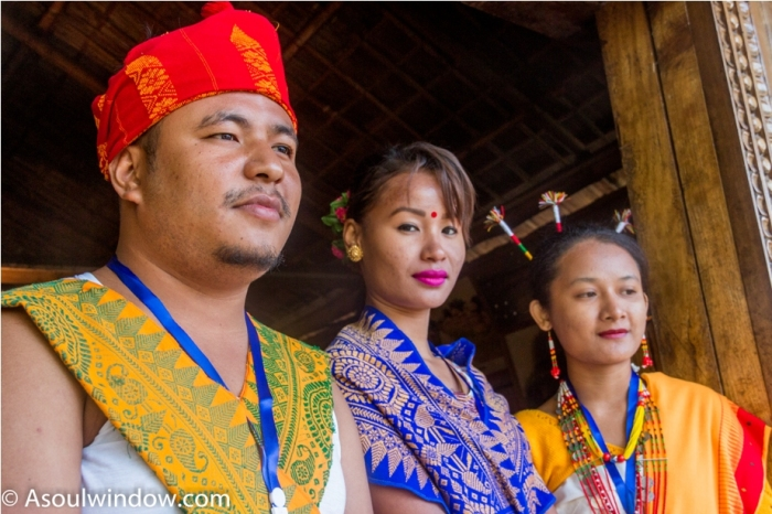 Kachari Tribe Hornbill festival Nagaland India Kachari tribe