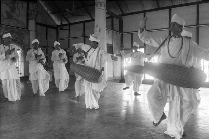Kamalabari Satra Sattriya Dance Majuli River Island Assam India (2)
