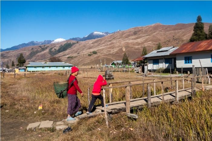 Local Adventure At Mechuka Arunachal Pradesh India