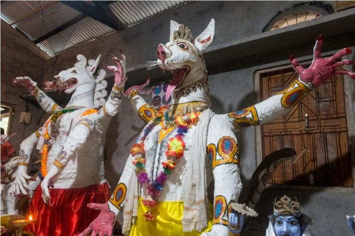 Mask Making Majuli River Island Assam India (4)