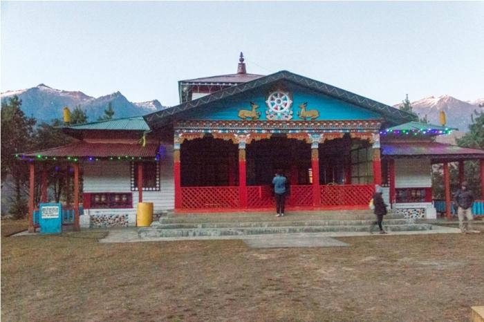 Monastery Adventure At Mechuka Arunachal Pradesh India