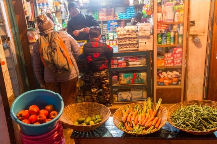 Night market Adventure At Mechuka Arunachal Pradesh India
