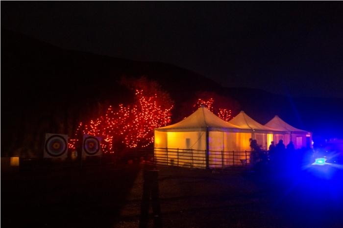 Night tent Adventure At Mechuka Arunachal Pradesh India