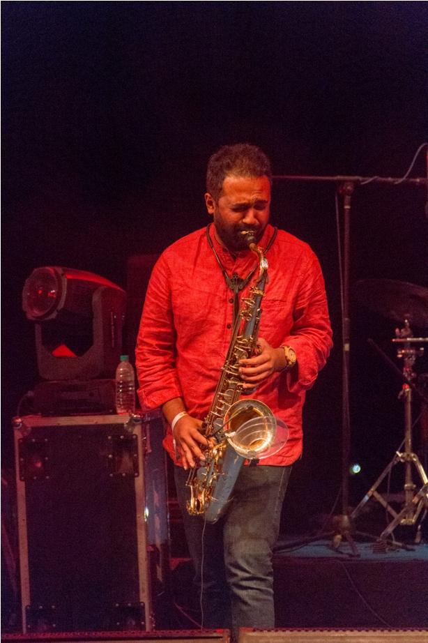 Saxophone Orange music festival Dambuk Arunachal Pradesh India