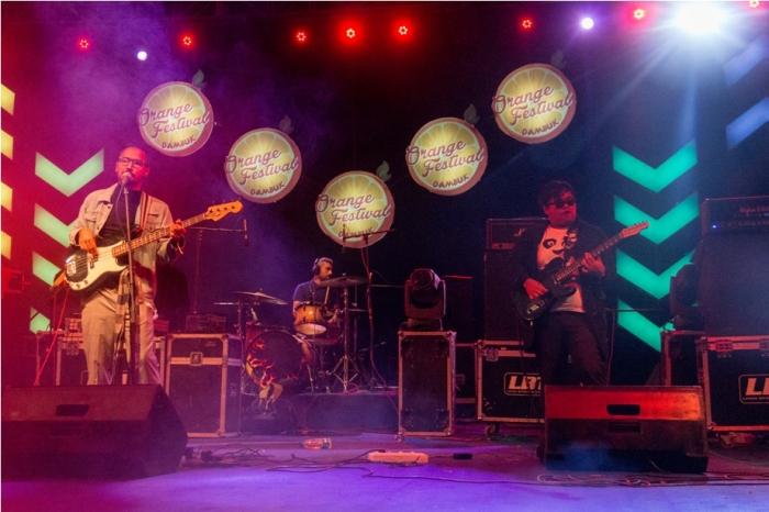 Stage Orange music festival Dambuk Arunachal Pradesh India