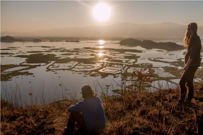 Sun set Boat ride Loktak Lake Manipur Incredible India Phumdi (3)