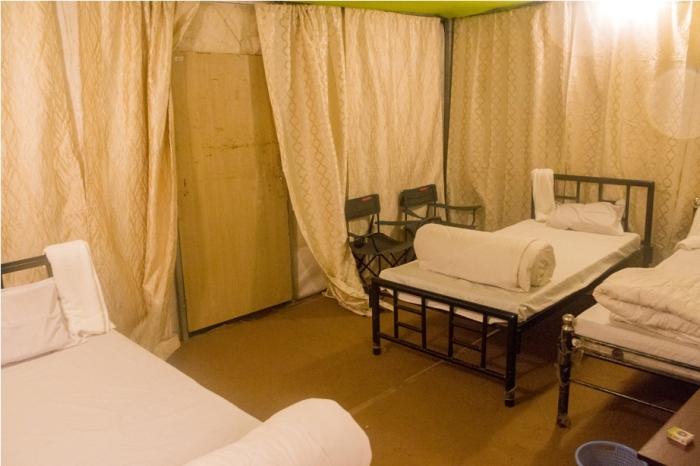 Tent Orange music festival Dambuk Arunachal Pradesh India