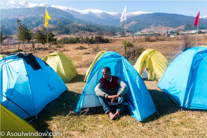 Tents Adventure At Mechuka Arunachal Pradesh India