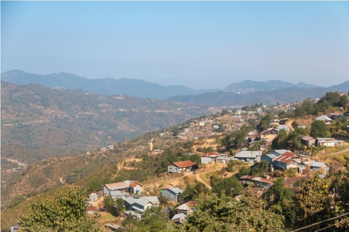 Ukhrul valley Manipur North East India