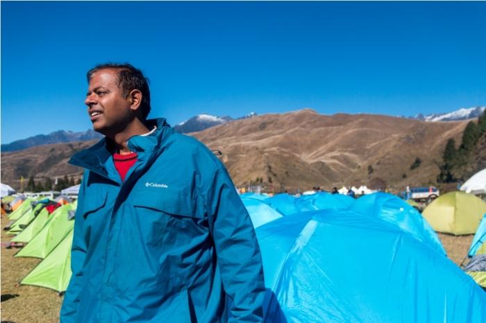 camp site Adventure At Mechuka Arunachal Pradesh India