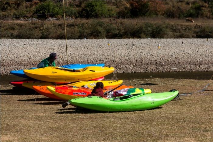 white water rafting Adventure At Mechuka Arunachal Pradesh India