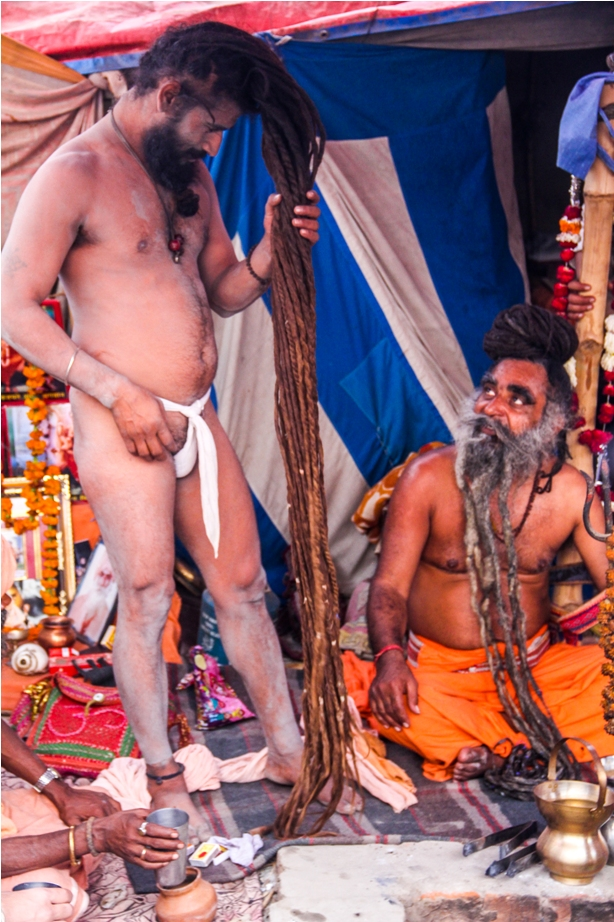 Naga Sadhu Ardhkumbh Mahakumbh Magh Kumbh Mela Prayagraj Uttar Pradesh (36)