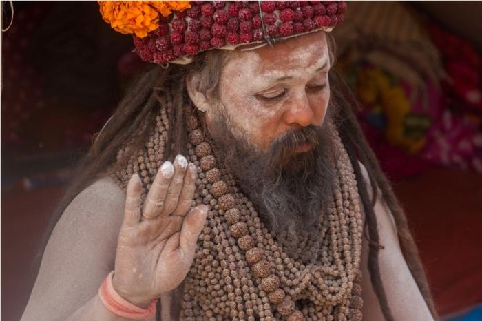 Naga Sadhu Ardhkumbh Mahakumbh Magh Kumbh Mela Prayagraj Uttar Pradesh (6)