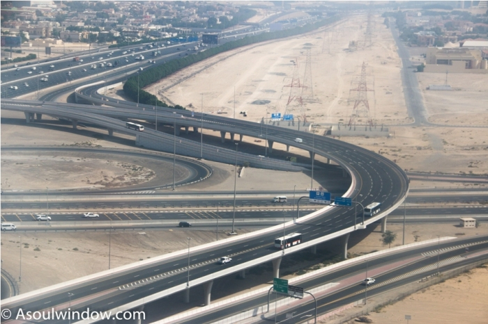 Roads Dubai UAE United Arab Emirates (2)