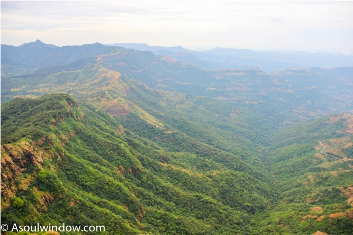 View from Pratapgarh Fort Mahabaleshwar Maharashtra India (3)