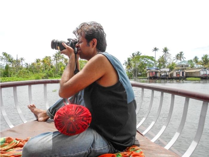 Alleppey Alappuzha. Vembanad lake Backwaters Kerala India (1)