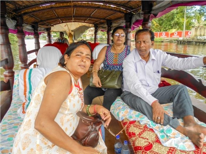 Alleppey Alappuzha. Vembanad lake Backwaters Kerala India (2)