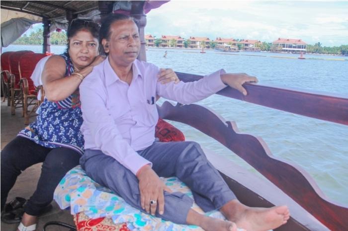 Alleppey Alappuzha. Vembanad lake Backwaters Kerala India (8)