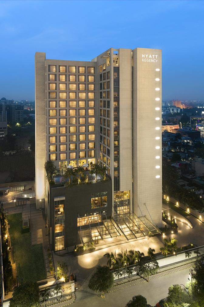 Hyatt Regency Lucknow Hotel Facade