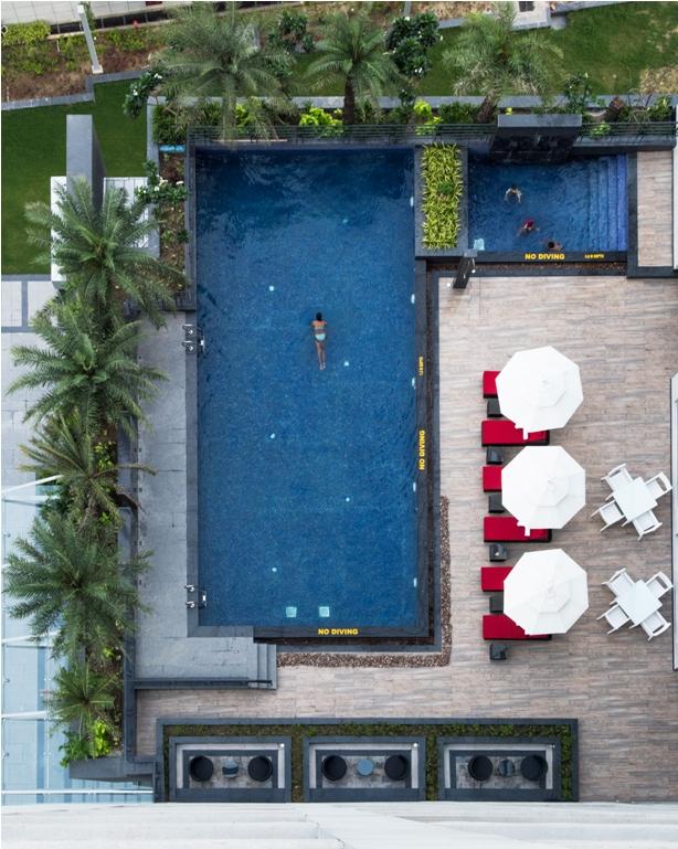 Hyatt Regency Lucknow Outdoor Pool+Kids Pool
